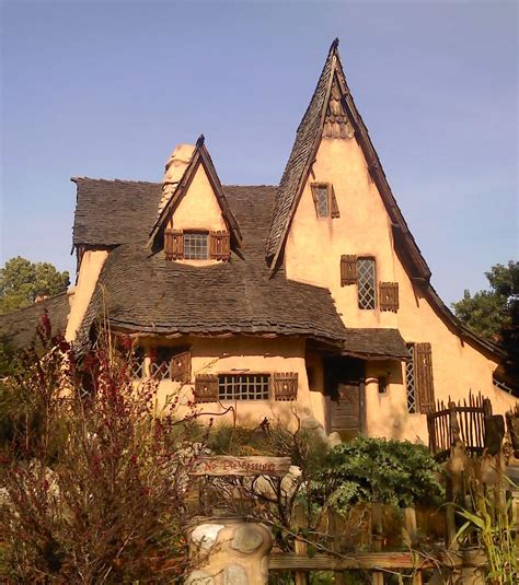 picture of a story book storybook house