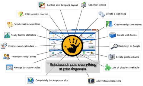 Soho Launch by Web Hosts Australia Soholaunch Sitebuilder