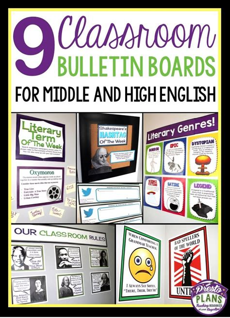 themes for high school english class 199 best images about bulletin board ideas middle school