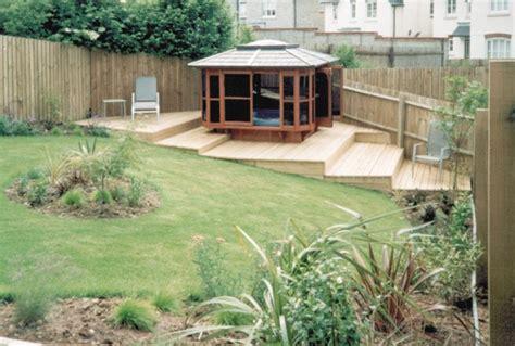 Decking Ideas For Sloping Garden Sloped Garden Decking Ideas Home Decor Interior Exterior
