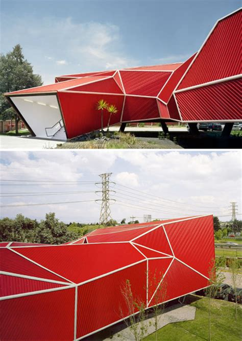 Paper Folding Architecture - origami inspired architecture 14 geometric structures