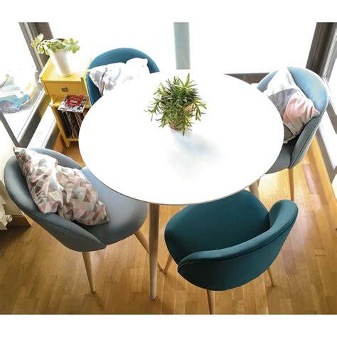 tavolo 4 persone tavolo da pranzo rotondo bianco 4 persone 90 cm