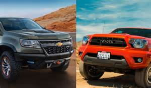 this or that chevrolet colorado zr2 or toyota tacoma trd