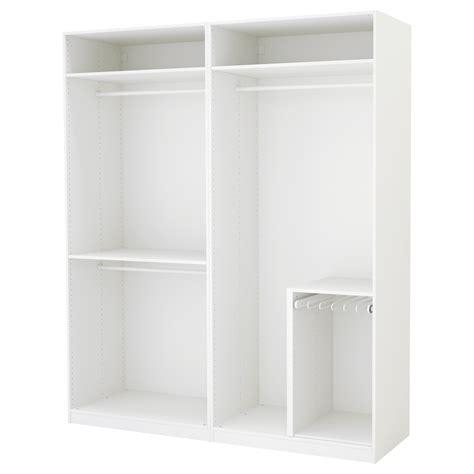 ikea wardrobe white pax wardrobe white 200x58x236 cm ikea