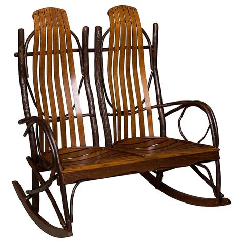 amish double rocker cabin place