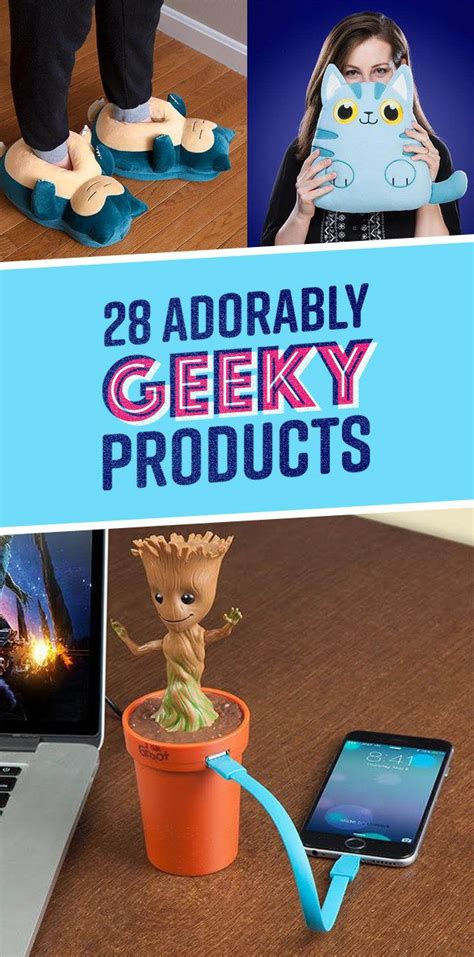 28 adorably geeky products you ll want to buy asap