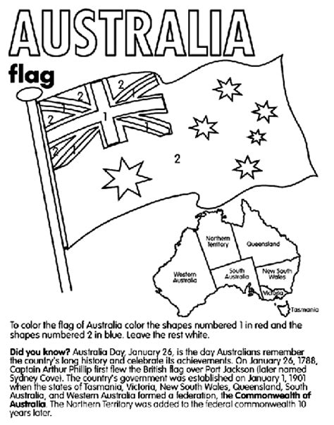 Australia Coloring Page Crayola Com Free Colouring Pages Australia