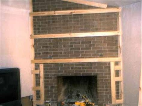 cover up fireplace how to cover a fireplace using sheet rock for the home