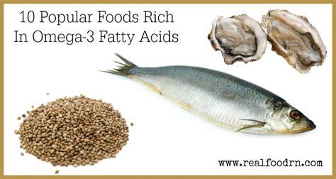 Fish Omega 3 Fatty Acids by 10 Popular Foods Rich In Omega 3 Fatty Acids