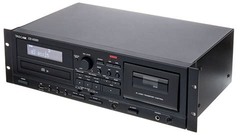 cd cassette recorder tascam cd a580 thomann united states