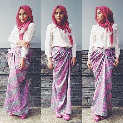 Pakaian Wanita Baju Terusan Blue Fashion Modern muslimah fashion inspiration i style gaya muslim fashion and