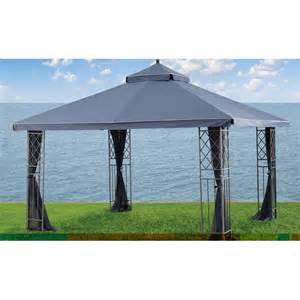 10x12 Gazebo Canopy by Home Outfitters Gluckstein 10x12 Replacement Canopy Garden