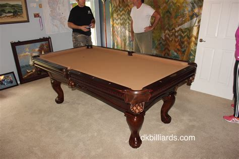 Non Slate Pool Table by Replacing A Non Slate Pool Table Dk Billiards Service