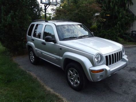 jeep liberty limited 2004 sell used 2004 jeep liberty limited in macungie