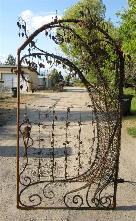 metal backyard gates 265 best images about gates fences and walls on pinterest