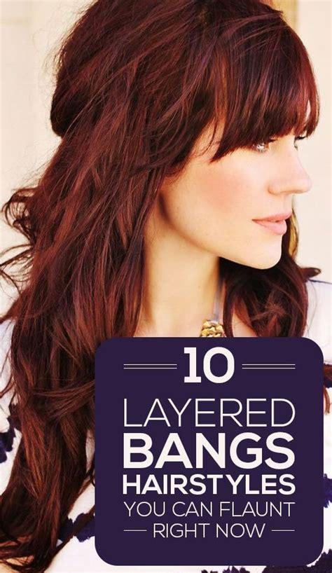 4 bangs hairstyles to bang or not to bang fashion tag blog 10 layered bangs hairstyles you can flaunt right now