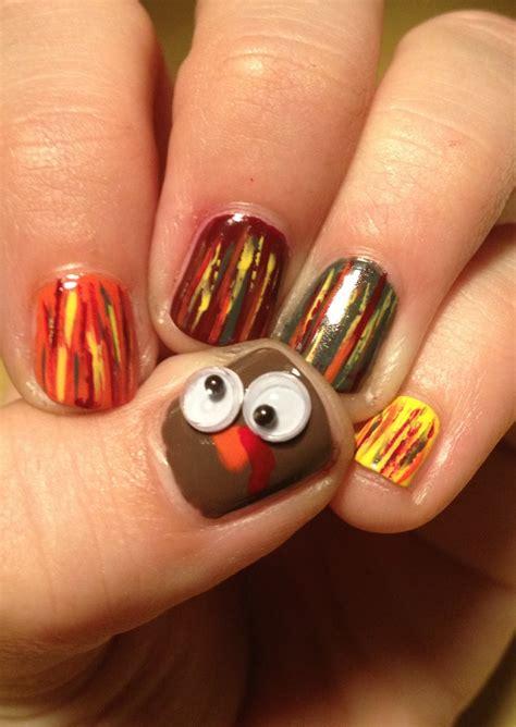 Thanksgiving Themed Nail