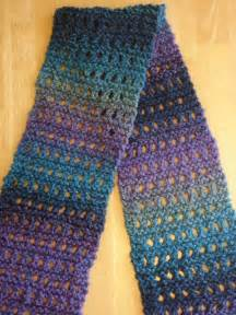 Beginner knitter try this easy eyelet scarf knitting pattern you