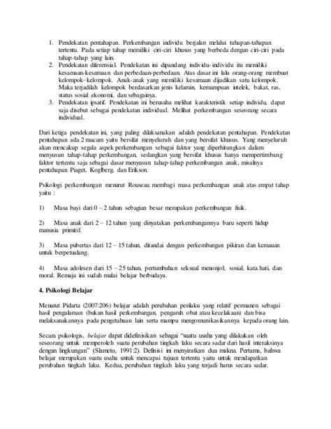 Psikologi Pendidikan Landasan Kerja Pemimpin Pendidikan landasan psikologi pendidikan 2