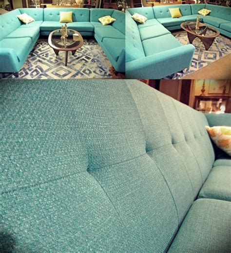 conversation pit sectional retro aqua conversation pit sectional 3500 ballard