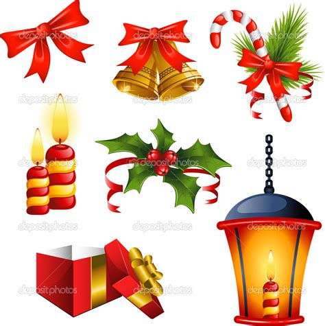 christmas design home design christmas design elements stock vector 194