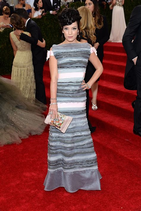 Lilly Allen For Chanel by Best Dressed New York City And The Met Gala 2014