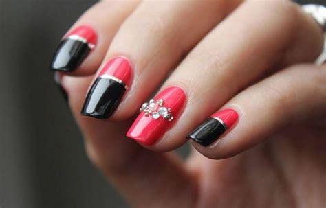 imagenes de uñas pintadas de rojo y negro u 241 as decoradas f 225 cil de hacer decore sus u 241 as en su