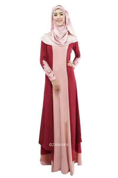 Gamis Wanita Terkini Gamis Wanita Muslim Cantik Terbaru 2018 Model Terbaru