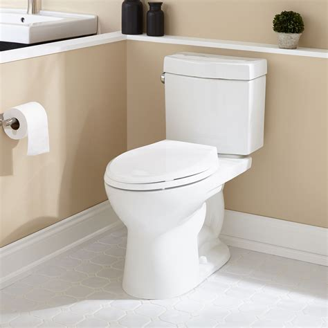 Luther Elongated Two Piece Toilet   ADA Compliant   Bathroom