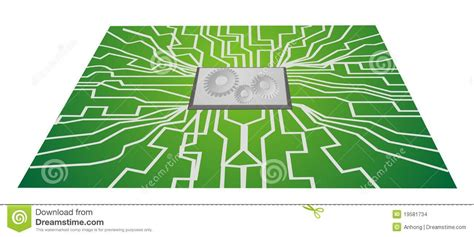 integrated circuit vs cpu integrated circuit boards cpu stock images image 19581734
