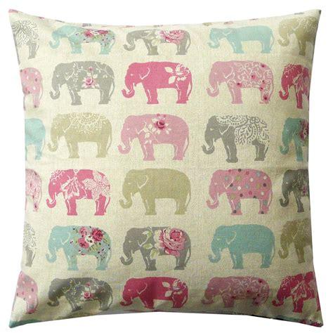 kissen pastell rosa sch 246 ner leben kissenh 252 lle elefanten pastell rosa t 252 rkis