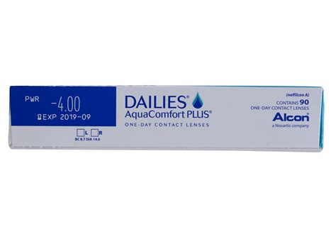 aqua dailies comfort plus 90 dailies aquacomfort plus 90 pack by ciba vision lensdirect