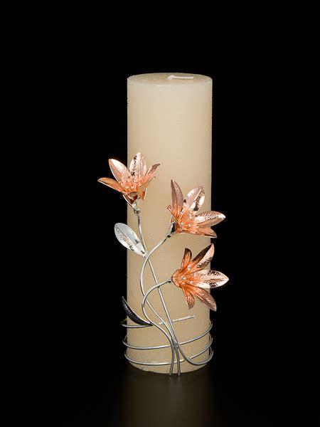 lo è il fiore melograno candele decorate con fiori d argento mastro 7