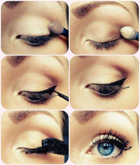 tutorial eyeliner simple eye make up be my way