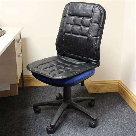 lumbar support cushion for desk chair orthopaedic leather desk office chair back seat cushion