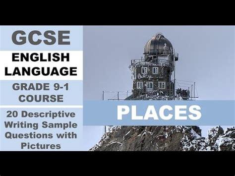 libro gcse english language writing gallery gallery descriptive writing exles
