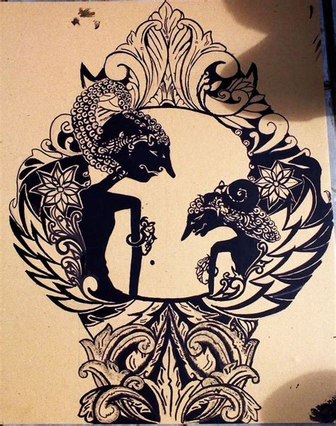 darius tattoo indonesia jawa timur wayang kulit poster google search music illustration