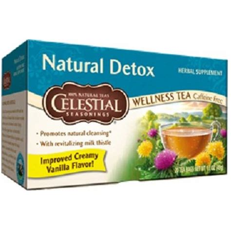 Celestial Seasonings Detox Wellness Tea by Celestial Seasonings Detox Wellness Tea 20 Bags