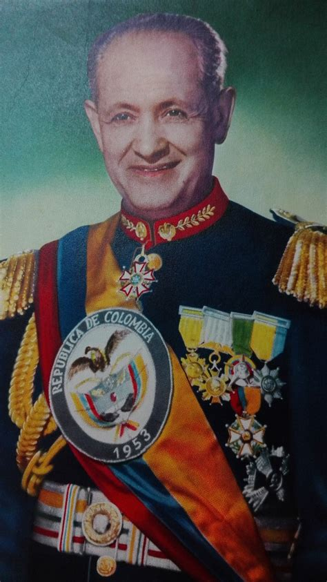 imagenes de gustavo rojas pinilla cartel afiche antiguo general gustavo rojas pinilla
