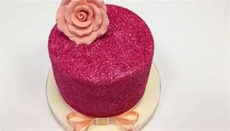 kuchen glitzer delightful ideas with edible glitter cake school