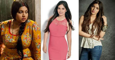 Bhumi Pednekar Detox Water by 10 Who Had A Drastic Weight Loss And The