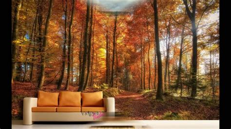 chimenea y asma murales paisajes vinilos decorativos youtube