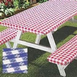 diy picnic table bench covers 3pc picnic table bench seat cover elastic fitted vinyl