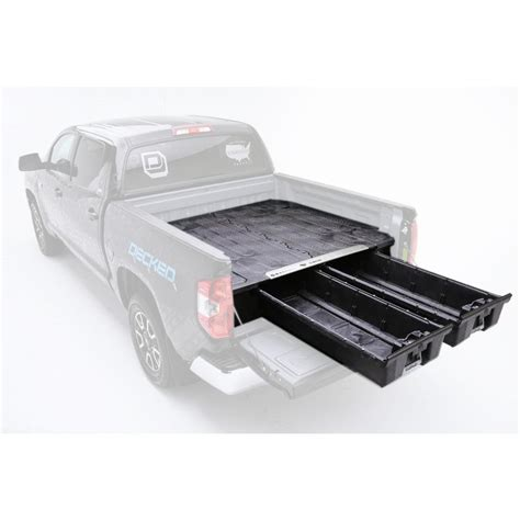 decked truck bed decked pick up truck storage system for ford super duty