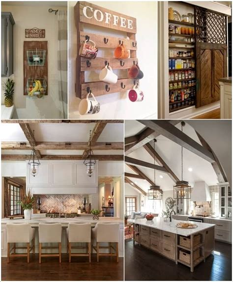 decor kitchen ideas 10 amazing rustic kitchen decor ideas