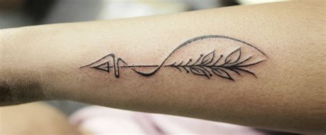 archery tattoos 5 bold bow and arrow designs for