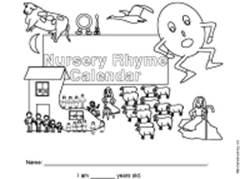 Calendar Rhyme What S New At Enchantedlearning
