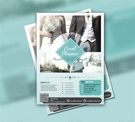 flyer design wedding 23 wedding planner flyer templates free premium download