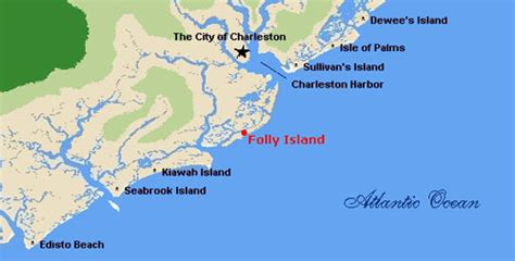 Vacation Home Rentals Vermont - folly beach directions and maps follybeach com