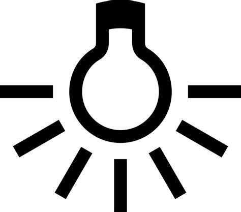 beleuchtung zeichnen kostenlose vektorgrafik le birne gl 252 hbirne licht